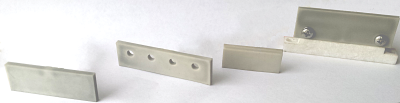 Image of various ceramic hotbars for ACF, solder reflow and heat seal